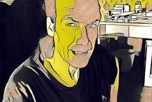 Photos / My precious friend Theofilos Vandoros by Andy Warhol art