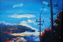 Landscapes by Lisa Lambertus / orignal landscape paintings by Lisa Lambertus Art & design. www.facebook.com/lisalambertusad