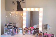 tiener make-up kamer meiden