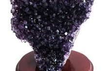 That's all about Amethyst / Beautiful Brazilian Amethyst. Different shapes, sizes and colours. Feel the Amethyst Power!