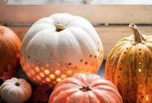 Deco / Pumpkin deco pompoen