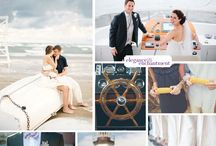 Nautical Wedding / Inspiration for a nautical wedding