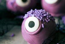 Halloween popcake