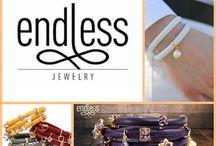 Endless Jewelry / Calf skin leather bracelets