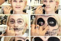Maquiagem pintura na face