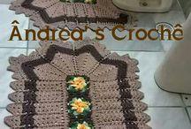 crochet baño