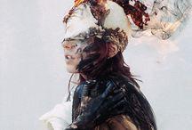 oameni, abstract