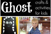 Kids Halloween crafts / by Annette Johnson