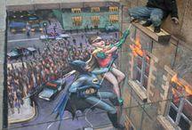 WAINAO love STREET ART / street art amazing creations.