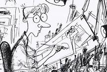 Cartoonists and Cartoons