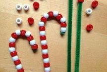 Christmas decorations the kids can make.