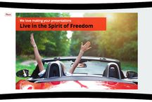 Enjoy the spirit of freedom