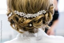Bridal hair and makeup ideas / Some of our favourite hair and makeup arrangements from recent weddings