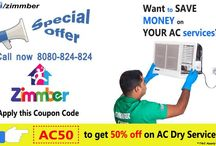 Zimmber Online Offers / Get Exclusive online offers on Handyman Services like AC Repair, Plumbing, Home Painting, Cleaning and More!