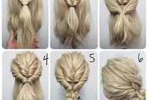 Enkle frisyrer