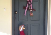PORTES / Décorations des portes