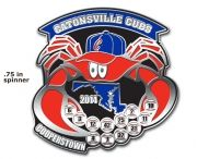Cooperstown Baseball Pins / Cooperstown is any young baseball players dream!  Here's a collection of pins we have created for teams that have gone on to play on those fields of the Dream Center.