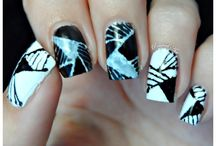 Black & White Challenge / Nail art from the Black and White Challenge