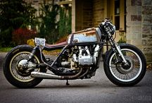 Gold Wing Cafe Racers
