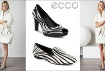 Pantofi cu toc şi balerini ECCO