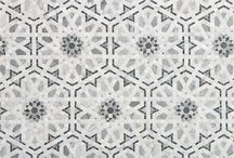 TILE INSPIRATION / Our favorite tile products to add pattern, color and texture to any project.