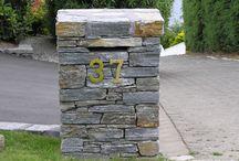 Stone Letterbox