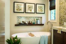 Mosaic Tile in Bathrooms / Trending: mosaic tiles in bathrooms.