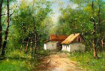 Tanya festmény