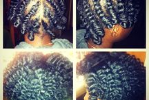 Natural hair styles and Protective Styles / by Jamill Brown