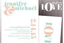 Wedding invitations / My favorite wedding invitations