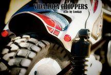 "Sportster Harley ""So! BMX"" by Vida Loca Choppers / Sportster Harley So! BMX Designed by Vida Loca Choppers in 2013"