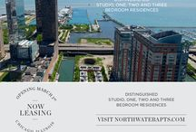 North Water Apartments / With its striking design and spectacular views, North Water is the new Chicago landmark that puts you on top of luxury, and inside a new addition to the city skyline. Distinguished studio, one, two and three bedroom residences raise the bar for cosmopolitan living, keeping you close to everything the city has to offer. Enjoy a lavish life high in the sky that's connected to the action below. North Water is your key to the city, the water, the life. www.northwaterapts.com