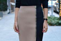 Office wardrobe / Fashion