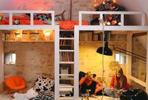loft bed? / by Lisa Erickson