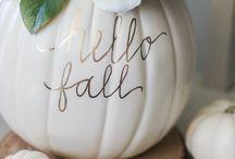 Decor -Fall