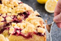 Lemon raspberry cake easy