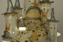 Torentjes van klei