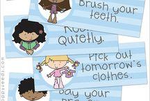 Bedtime help! / bedtime routines/organization / by Alisha Nichols