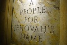 People For Jehovah's Name / My theocratic history image collection. / by Vanessa Sperling