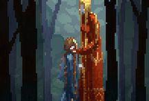 pixel art & games