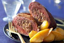 Magret au foie gras