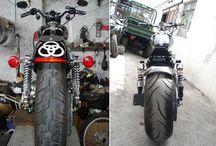 motorcycles / motocicletas que he reparado ultimamente