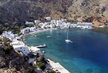 Loutro, Crete / Loutro lies on the south coast of Chania regional unit in west Crete, between Chora Sfakion and Agia Roumeli, the exit to the Samaria Gorge. The whole area is known as Sfakia.