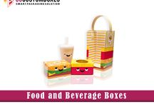 Food and Beverage Boxes / Custom food and beverage boxes service are being found everywhere now a day.