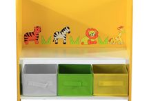 Safari Wooden Furniture For Kid's / Create a safari themed bedroom or playroom for your children with our wooden colourful furniture.