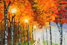 Impressionism/expressionism/pointilism