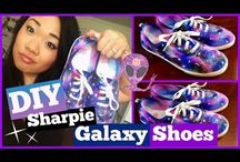Galaxy sharpie shoes