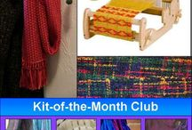 Cricket Loom: Weaving Made Easy / Weave up your favorite stash yarns or get started weaving with our time-saving kits to craft scarves, table linens, towels and more!  The Cricket Loom is the perfect starter loom or great for anyone who loves to weave.  Visit us online at www.cottonclouds.com