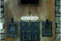 Dr V Frankenstein's Laboratry / Halloween 2014