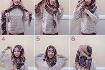 Hijab style and fashion